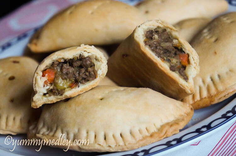 Nigerian Meat Pie Savory Beef Hand Pies Yummy Medley